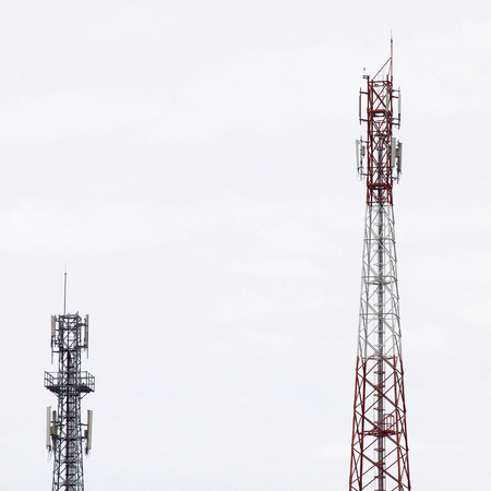 metal structure: telecommunications towers