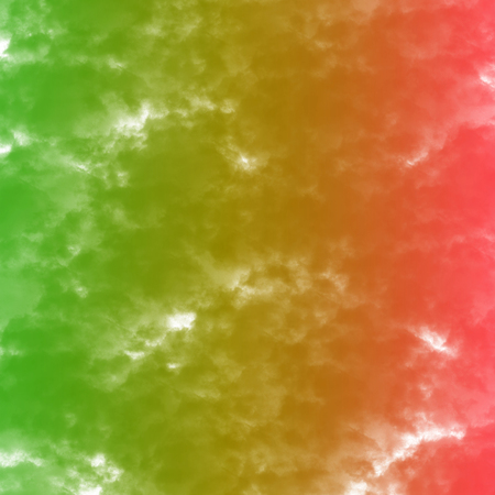reggae color with watercolor splash background