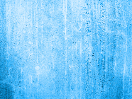 blue cement wall background
