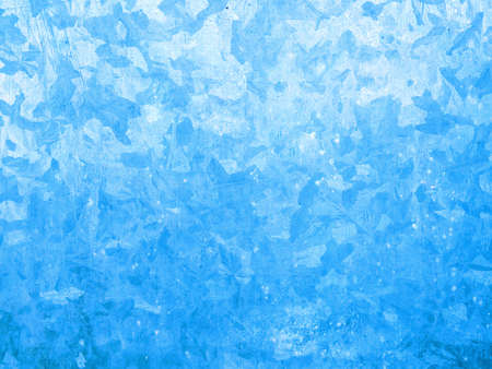 Background of blue Aluminium wall Stockfoto