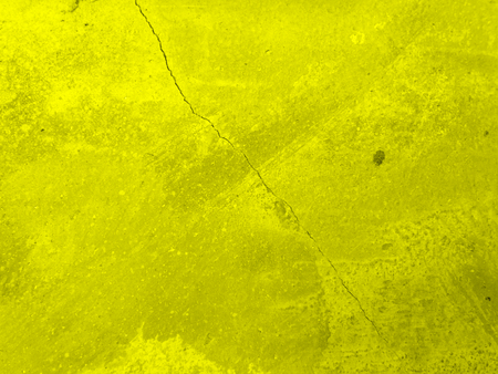 yellow cracked wall background