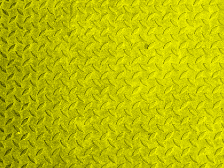 Old yellow rusty metal surface grounge background Stock Photo