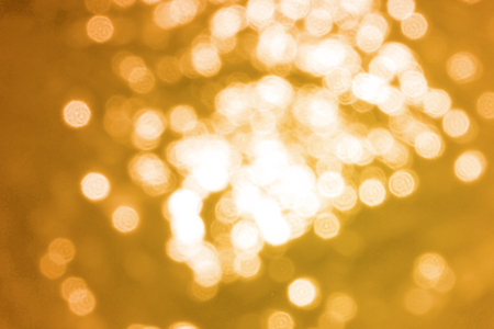Abstract gold bokeh, Christmas and new year theme background Stockfoto