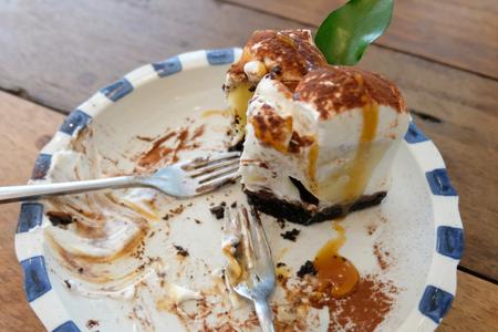 Vanilla and wipping cream cake