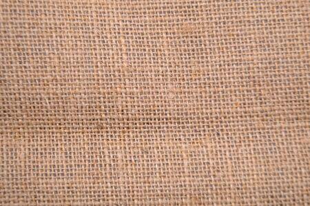 close up brown natural burlap texture background Reklamní fotografie