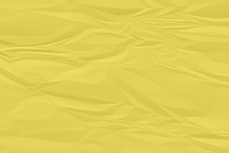 crumpled yellow paper background close up Stock fotó