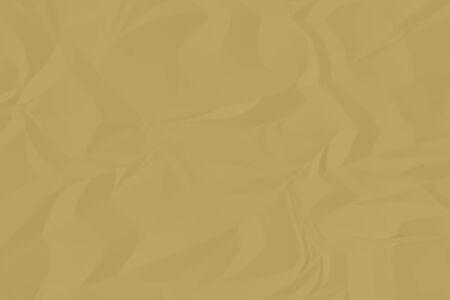 crumpled brown paper background close up Banco de Imagens