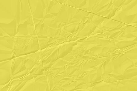 crumpled yellow paper background close up Zdjęcie Seryjne