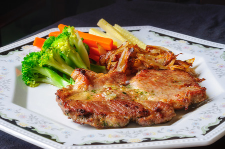 fryed: Grilled Foods - BBQ Pork with Vegetables