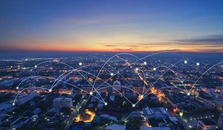 smart city and communication network