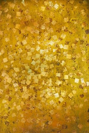 Gold Leaf ,Gold Foil texture Stock Photo - 9350831