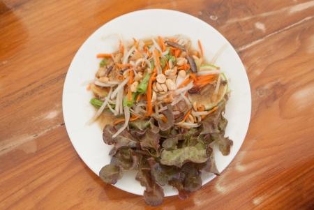 Papaya salad Stock Photo - 24642176