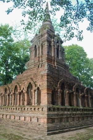 buddhist stupa: Ancient buddhist stupa in thailand