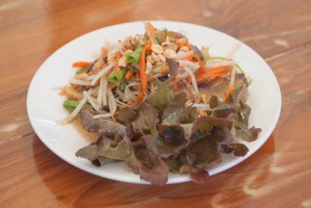 Papaya salad Stock Photo - 24772233