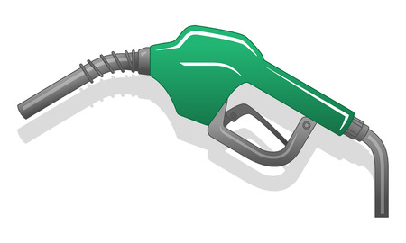 Gas Nuzzle green Illustration