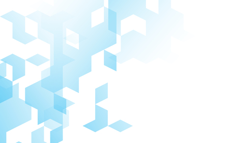 diamond background: Abstract diamond square box background blue color with copy space Illustration