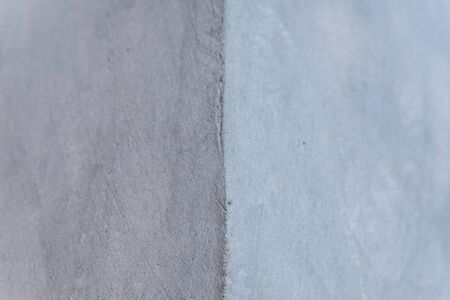 Concrete Wall right angle texture background grey color with copy space