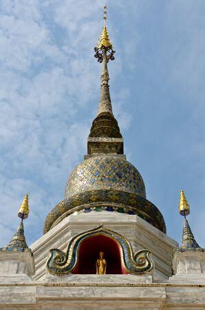 dork: Pagoda in Wat Saun Dork, Chiang Mai province, Thailand