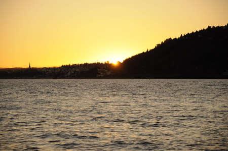 bariloche: Sunrise At Bariloche Stock Photo
