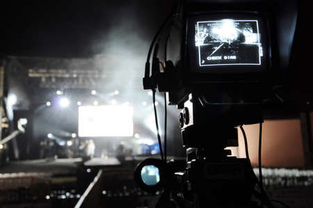 Camera and Stage Stock Photo - 9133762