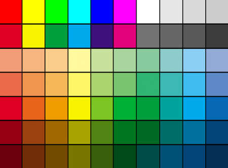 Multi color palette background, suitable to use it as color mosaic background photo