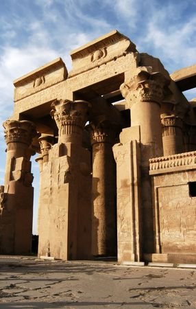 Ancient temple of pharaoh Sobek in Kom Ombo, Egypt
