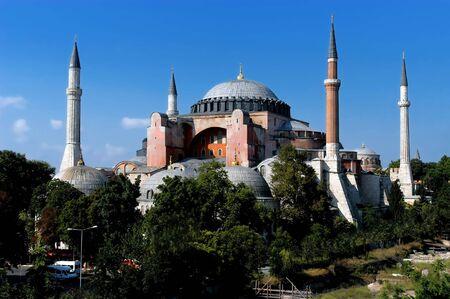 Hagia Sofia church in Istanbul, Constantinople, Turkey                           photo