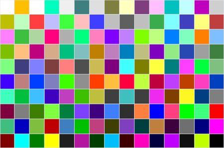 calibration: Multi colorato di taratura grafico, tutti i colori, lo sfondo del modello
