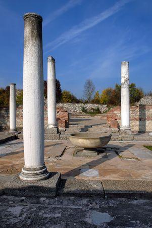 felix: Felix Romuliana, ancient Roman world heritage site near Gamzigrad, Serbia