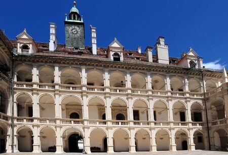 Landhaushof, renaissance building in Graz, Styria, Austria
