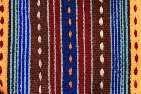 Hand woven kilim pattern, patchwork from Balkan`s Stock Photo