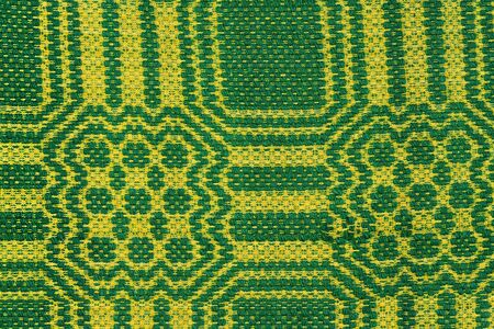 ethnology: Hand woven kilim pattern, patchwork from Balkan`s Stock Photo