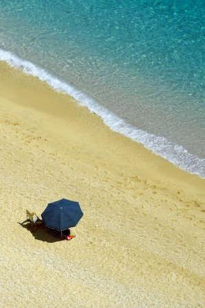 ionio: Detail from Egremni beach, Lefkada, Greece