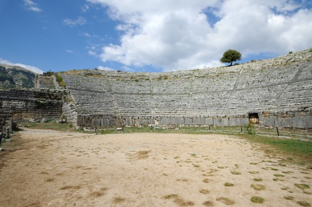 oracle: First oracle site in ancient Greece, Dodona Stock Photo