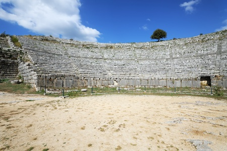 Dodona, first oracle site in Ancient Greece, dedicated to Zeus Stock Photo - 13058601
