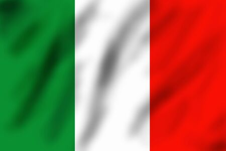 Flag of Italy, 3d illustration illustration