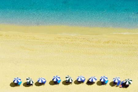 ionio: Egremni beach at Lefkada, Ionion sea, Greece Stock Photo