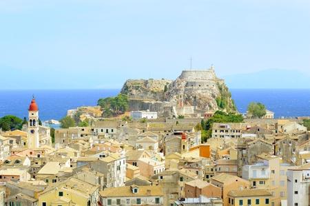Kerkyra town in Corfu, Greeece photo