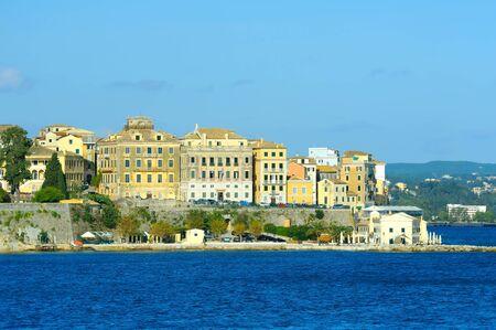 kerkyra: Kerkyra town in Corfu, Greeece