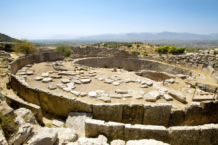 ancient greece: Tomb of the Kings, ancient Mycenae in Greece