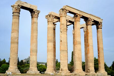 olympian: Temple of Olympian Zeus, Athens, Greece