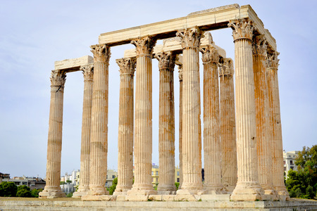 olympian: Temple of Olympian Zeus, Athens, Greece