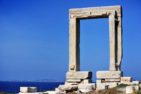 lintel: Portara of Naxos, Kyklades in Greece