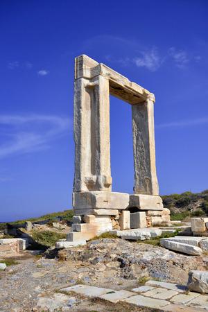 kyklades: Portara of Naxos Kyklades in Greece