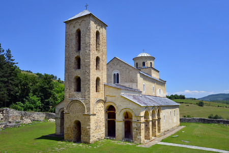 13th: Serbian Orthodox Monastery Sopocani, 13th Century, Serbia
