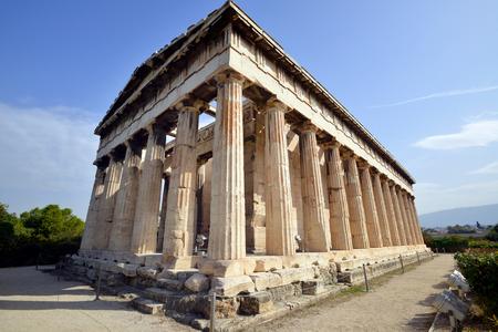 antica grecia: Efesto, il tempio pi� conservato dall'antica Grecia, Atene