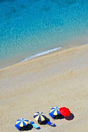 ionio: Famous Egremni beach in Greece few days before destructive earthquake
