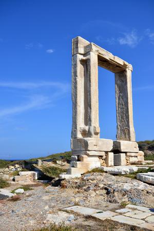 lintel: Portara of Naxos, famous landmark of Kyklades