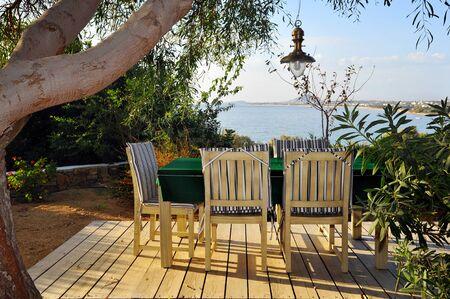 kyklades: Summer vacation scene, Naxos, Greece Stock Photo