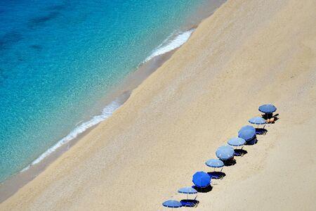 ionio: Egremni beach, Greece
